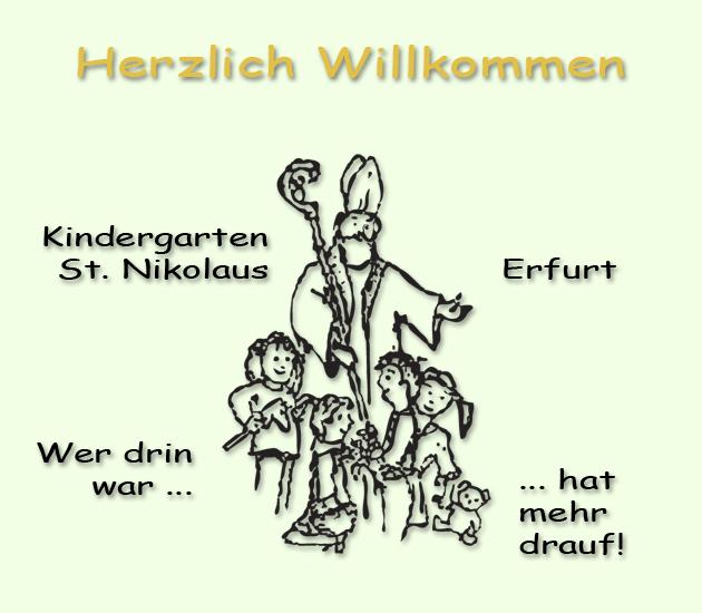 Willkommen im Kindergarten St. Nikolaus Erfurt